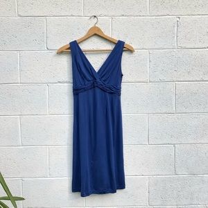 Barney's New York Blue Silk Formal Dress
